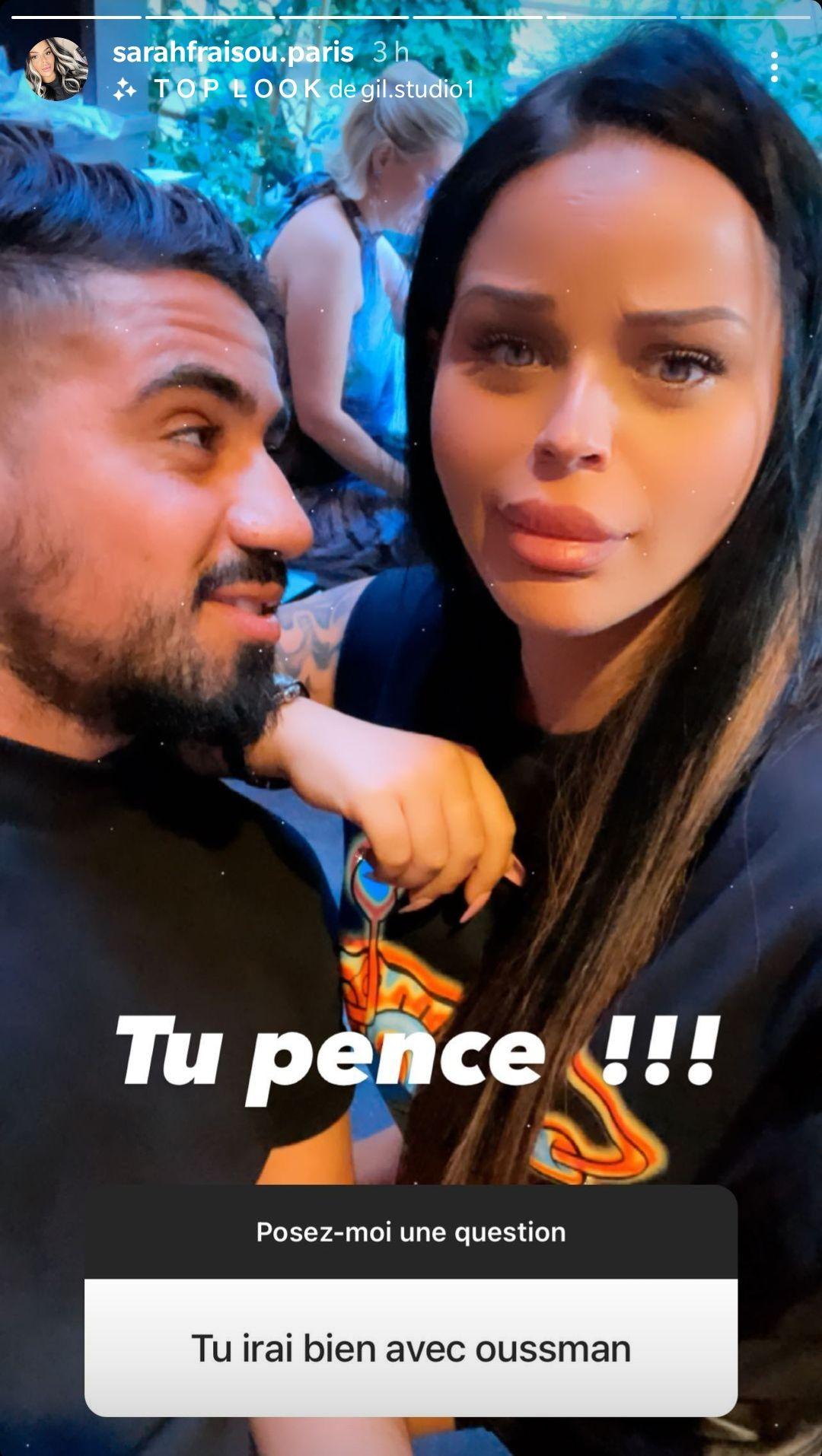 """Sarah Fraisou en couple avec Oussama ? Elle ne ferme pas les portes : """"Laissez-moi le temps"""""""