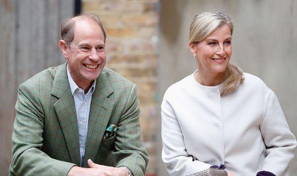 Prince Edward et Sophie de Wessex