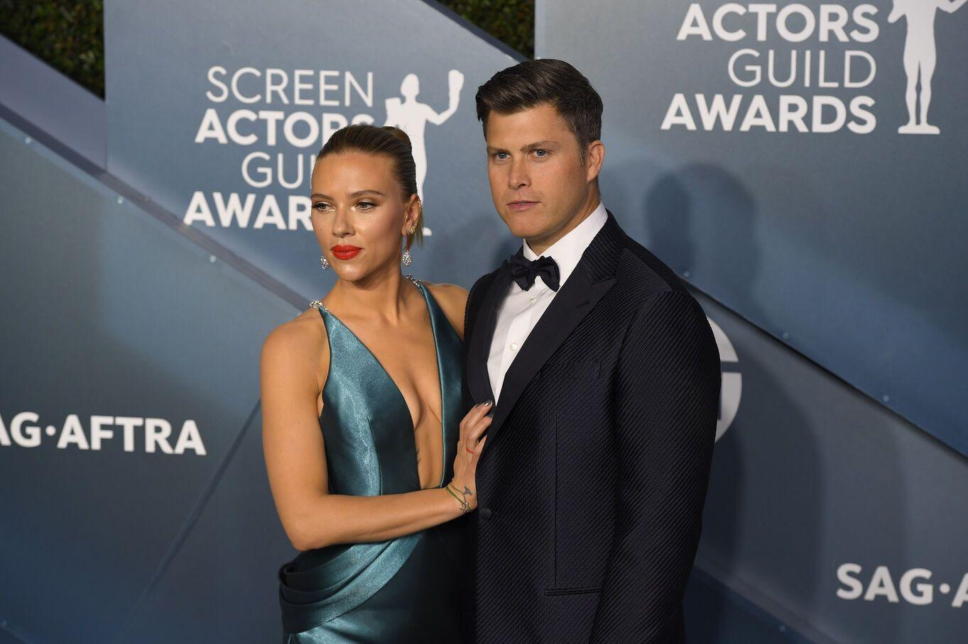 Scarlett Johansson enceinte : L'actrice attend un enfant de Colin Jost !