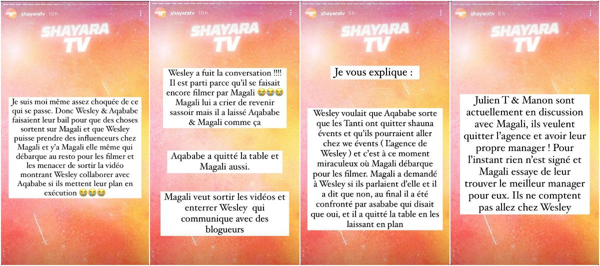 Magali Berdah vs Wesley Nakache : Qui a tenté de piéger l'autre ? On vous dit tout !
