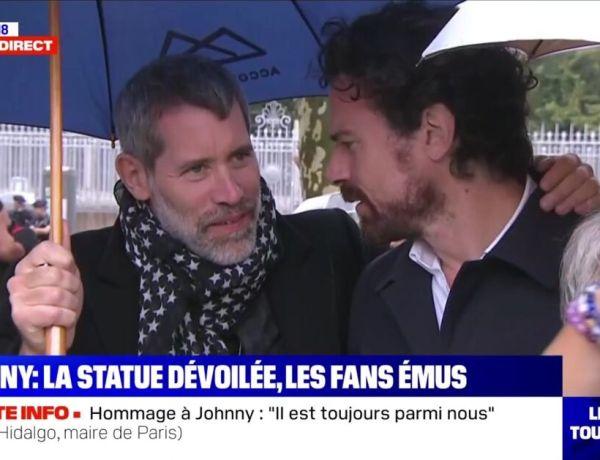 Laeticia Hallyday : Jalil Lespert hué par les fans de Johnny Hallyday lors de son hommage
