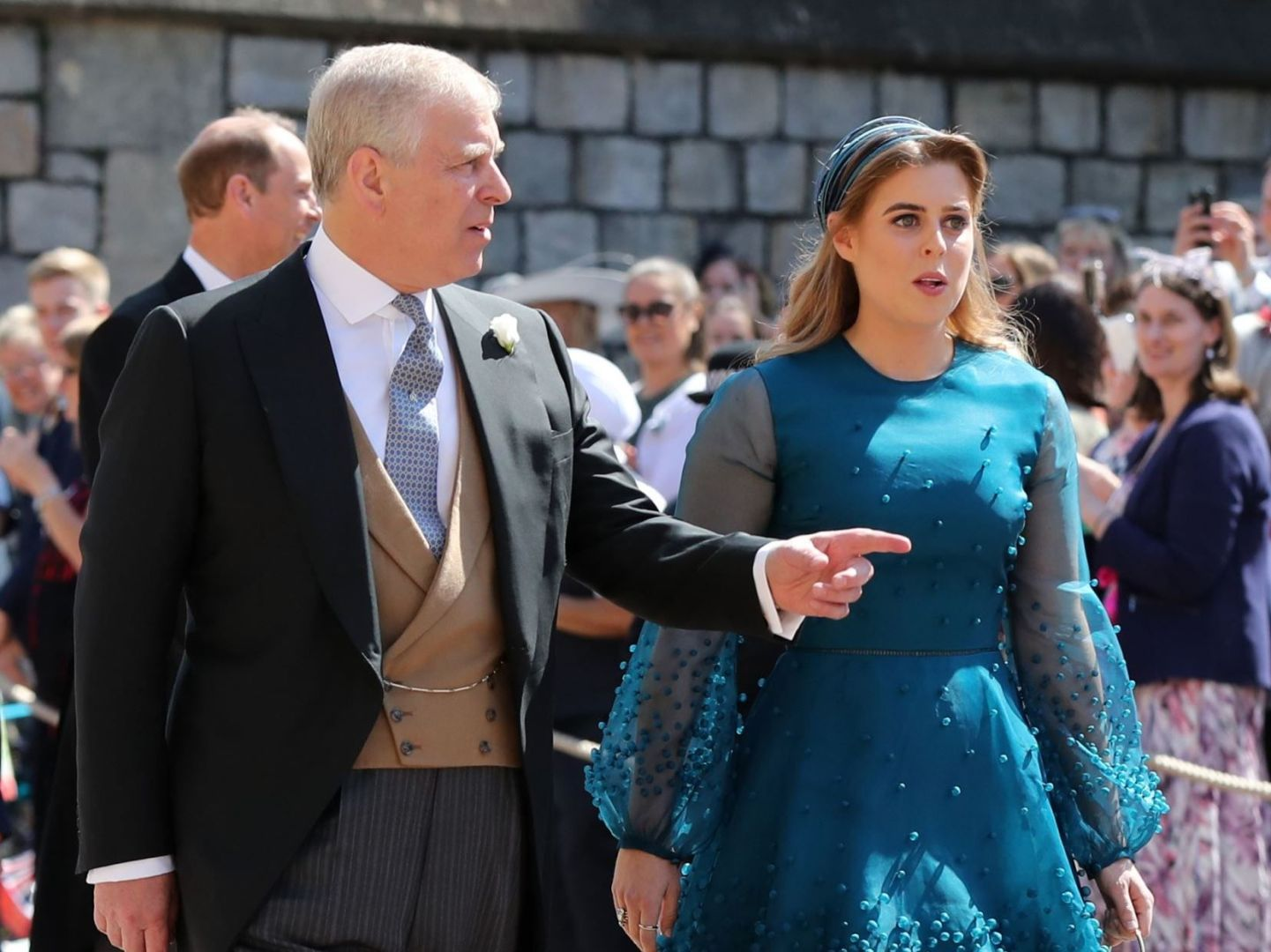 Beatrice d'York et son père, le prince Andrew @Reuters