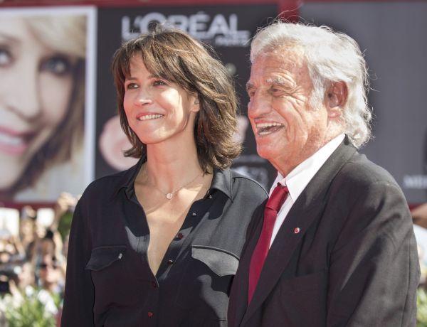 Sophie Marceau «pas triste» de la mort de Jean-Paul Belmondo : Elle s'explique