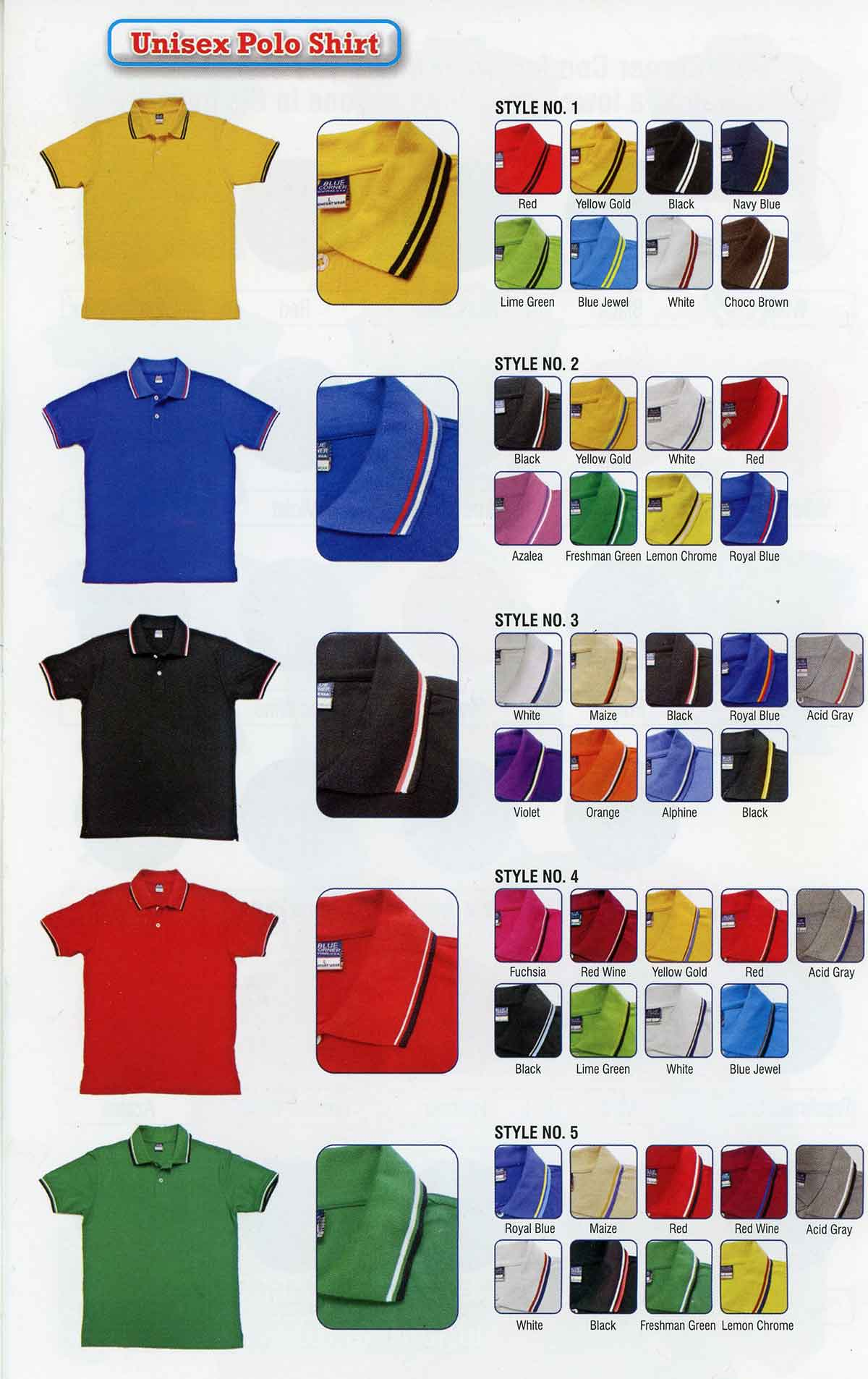 School Polo Shirts Logo