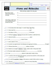 Bill Nye Atoms Worksheet Answers - The Large and Most ...