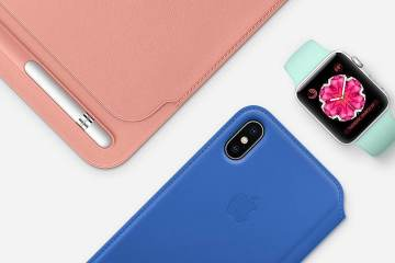 The new Apple summer collection accessories themed for iPhone, iPad and apple watch