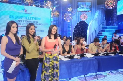 Wil Time Bigtime hosts Grace Lee, Camille Villar and Mariel Rodriguez