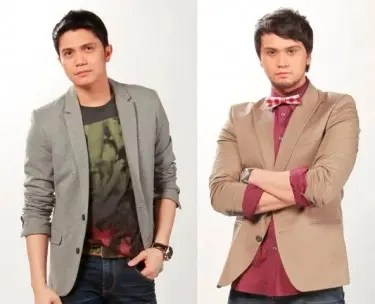 Vhong Navarro and Billy Crawford