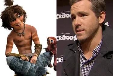Ryan Reynolds Croods