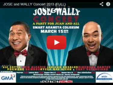 Jose and Wally Video