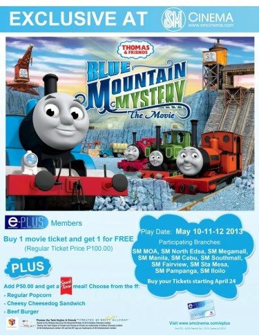 THOMAS AND FRIENDS BLUE MOUNTAIN MYSTERY THE MOVIE COUNTERTOP