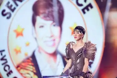 Vice Ganda as Senator_Photo by Mark Marcaida