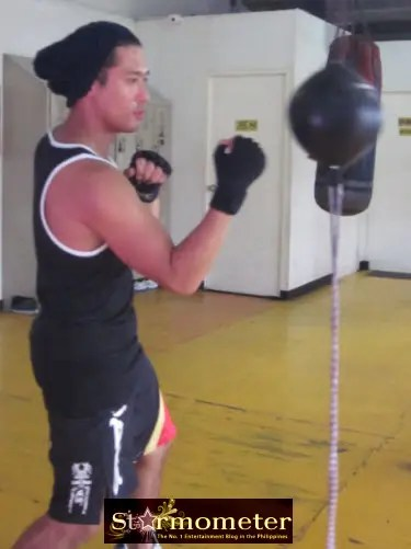 Rocco at the Gym 2