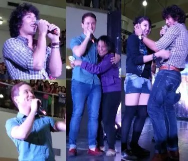 Ejay and Arjo dinumog ng fans