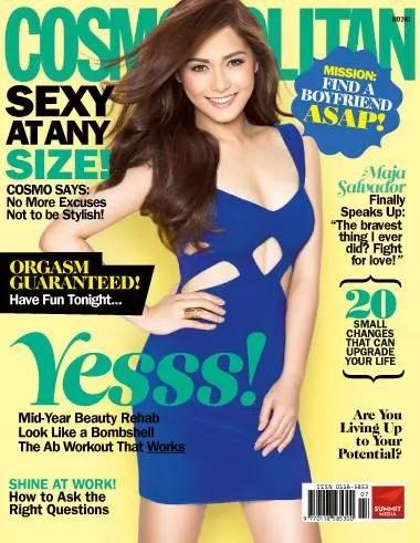 Maja Salvador  Cosmopolitan July 2013 Cover  Starmometer