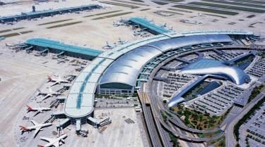 Aerial view of Incheon International Airport from www.passengerterminaltoday.com