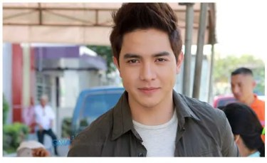 "Alden Richards during the taping of ""Carmela"" 
