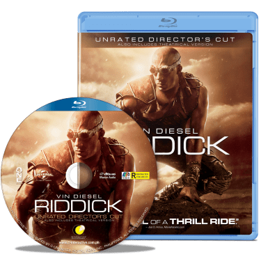 """Riddick"" Blu-Ray"