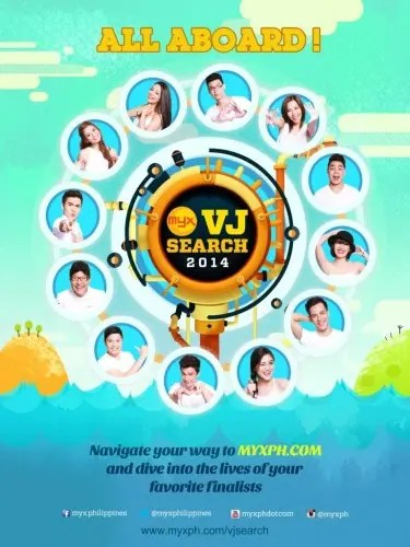 Finalists of the MYX VJ Search 2014