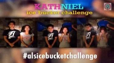 KathNiel Ice Buccket Challenge