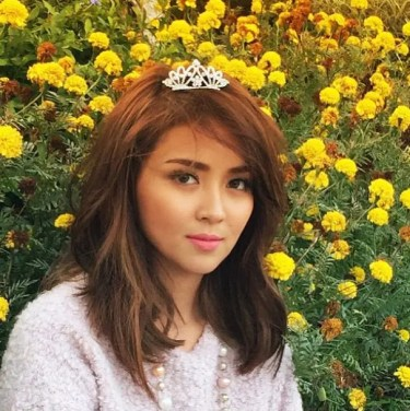 Kathryn with Crown