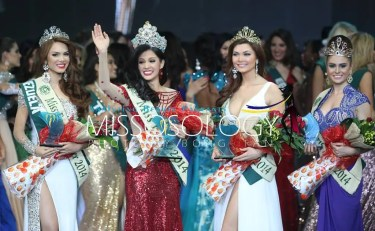 Miss Earth 2014 winners