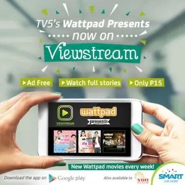 TV5s Wattpad Presents Viewstream