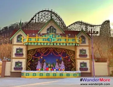 Everland Stage and Roller Coater