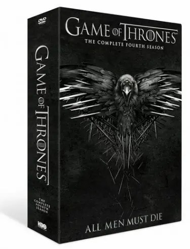 Game of Thrones 4 DVDs