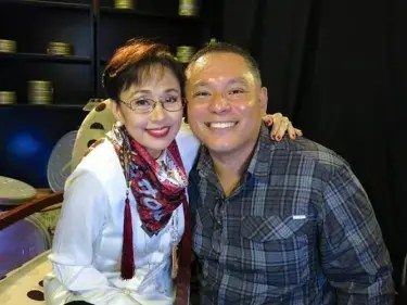 Vilma with Leo Katigbak