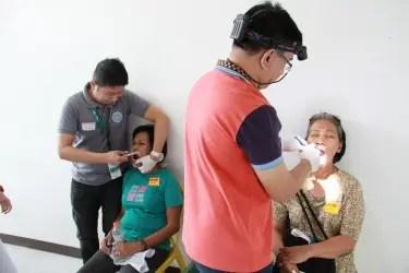 Mga Kapamilya sumasailalim sa dental check up