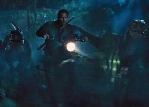Jurassic World Scene