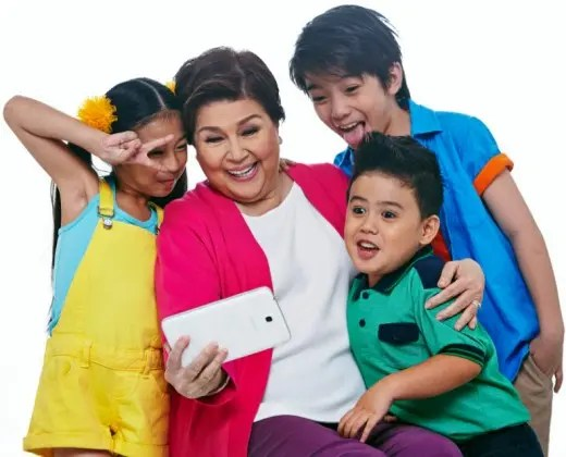 Lola Basyang with the Kids