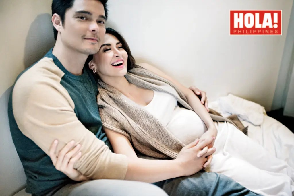 Dingdong Dantes and Marian Rivera in Their First Family ...