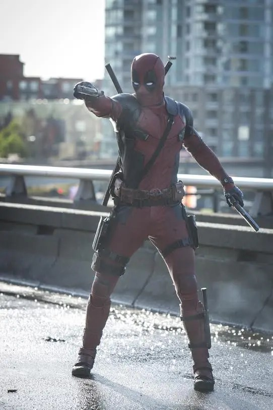 DEADPOOLTM and © 2015 Twentieth Century Fox Film Corporation. All Rights Reserved. Not for sale or duplication.