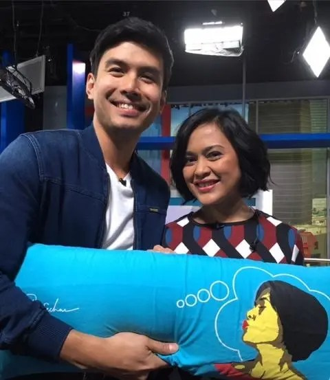 Christian Bautista at the Sarah Sechan Show