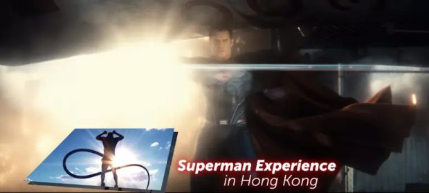 Superman Hong Kong