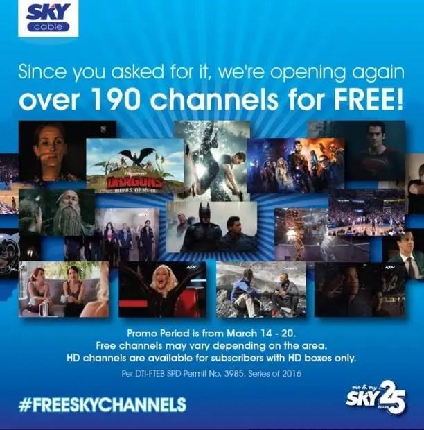 Free Channels