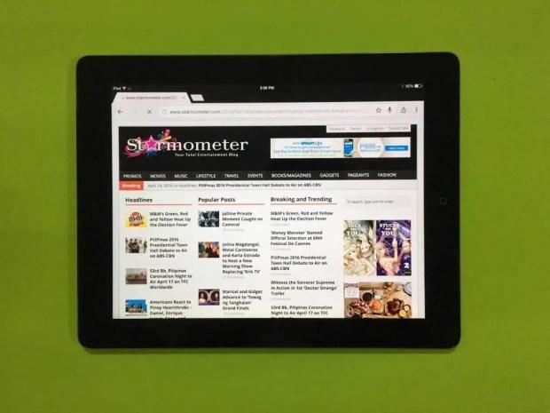 Starmometer iPad