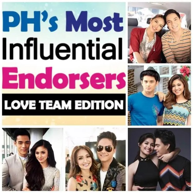 Most Influential Endorsers