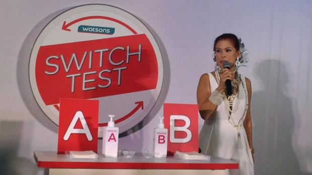 Tessa Prieto Valdez Challenge the Media for a Switch Test