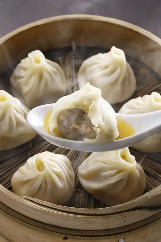 Don't miss the classic steamed Xiao Long Bao..