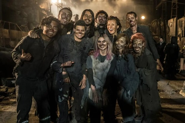 Alodia and Ashley as Zombies