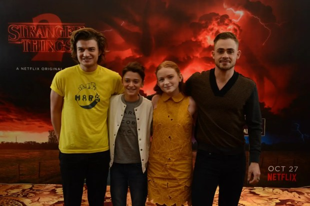 Stranger Things 2' Cast Members Grace the Asia Pop Comic Con