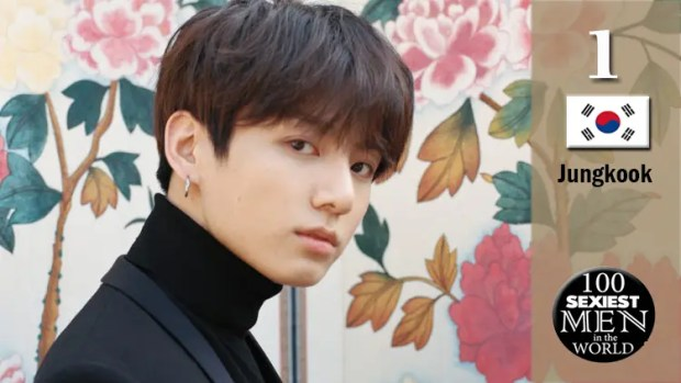 Jungkook of BTS Voted Sexiest Man in the World for the Year 2018