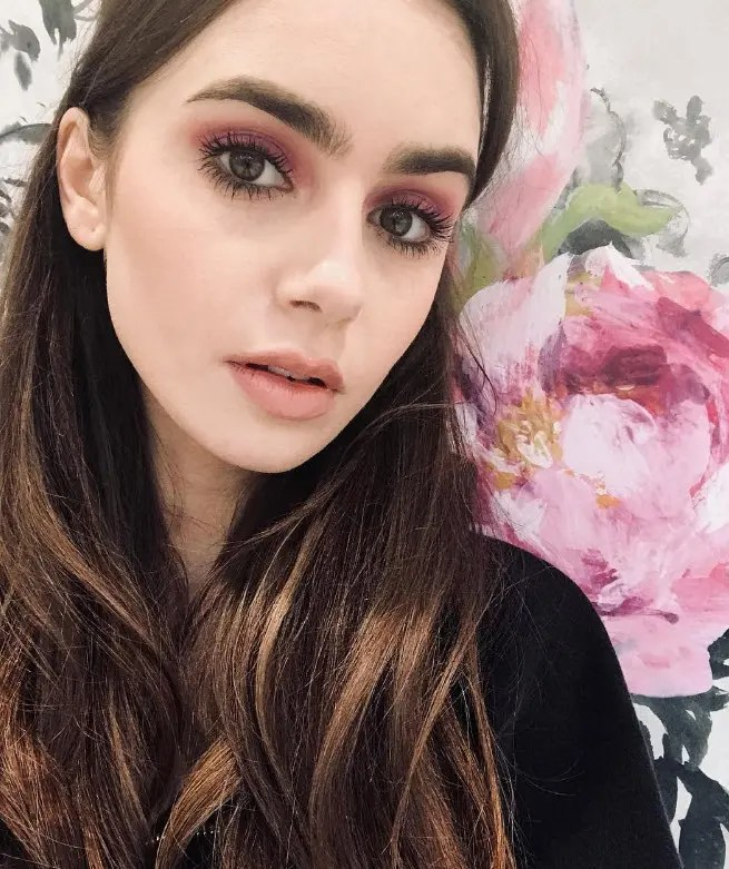 Lily Collins GREAT BRITAIN