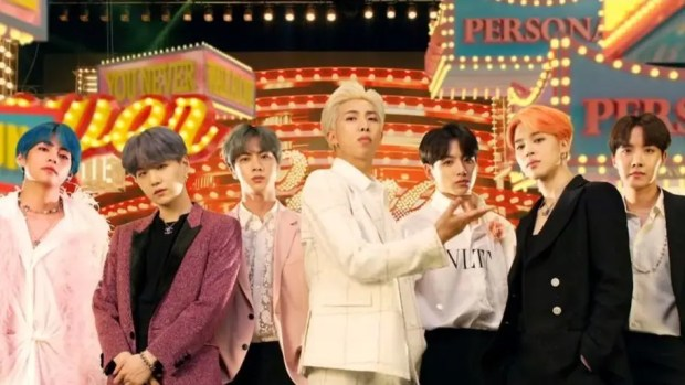 BTS Named Best Group and Best K-Pop at MTV Video Music