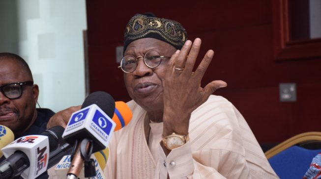 Image result for APC, Buhari – Lai Mohammed