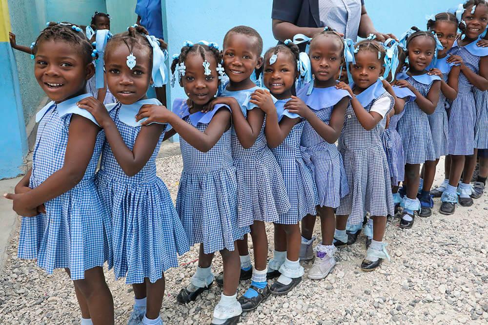 Hjelp det fantastiske folket på Haiti til å reise seg på nytt!