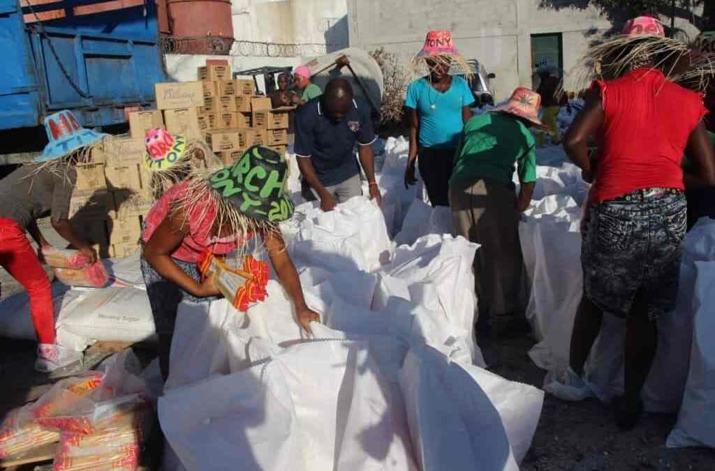 Första hjälpinsatsen på gång i Haiti!